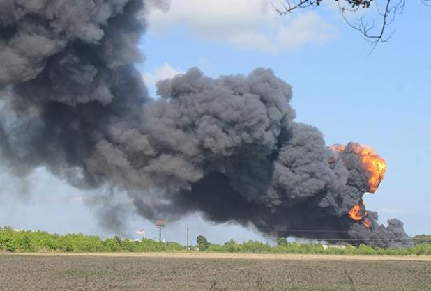 Fire breaks out at chemical plant in Louisiana, prompting evacuations